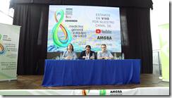 Autoridades de la AMGBA junto al secretario de Desarrollo Social, Facundo Nores